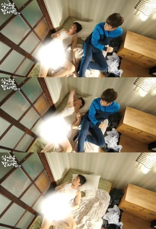 「ゴハン行こうよ2」BEAST ユン・ドゥジュン、キム・ヒウォンの下着脱衣にビックリ