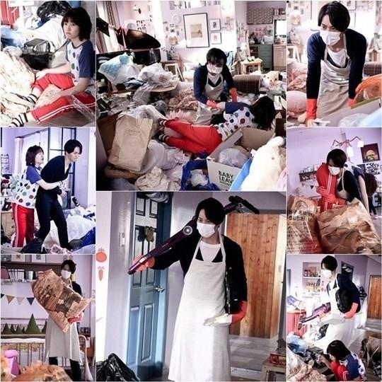 """韓国版「のだめ」チュウォン&シム・ウンギョン、大騒ぎの掃除シーンを公開""""現場は大爆笑"""""""