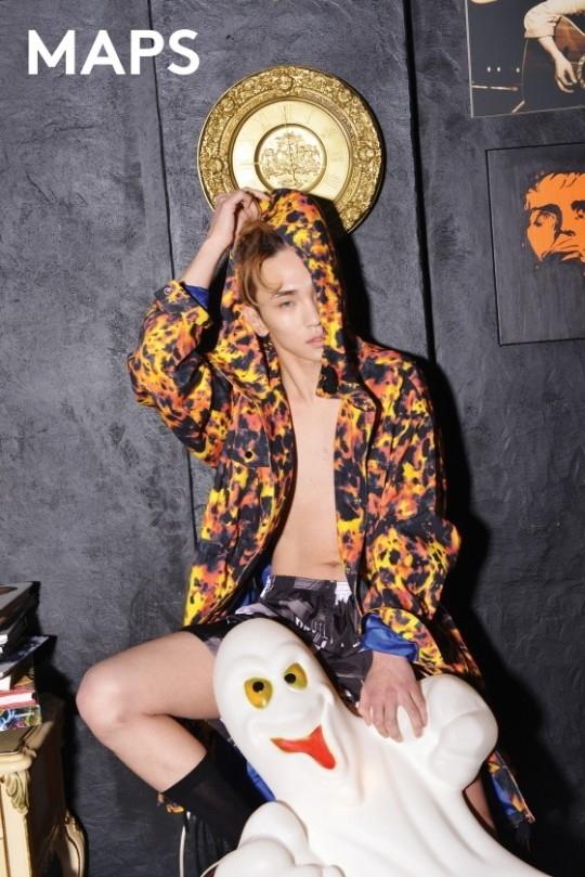 SHINee キー、裸にパーカーの大胆ファッション!幻想的な雰囲気のグラビア公開