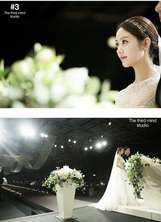 ハン・グル、結婚式の写真を公開…純白のドレス&美しさ際立つ眼差し