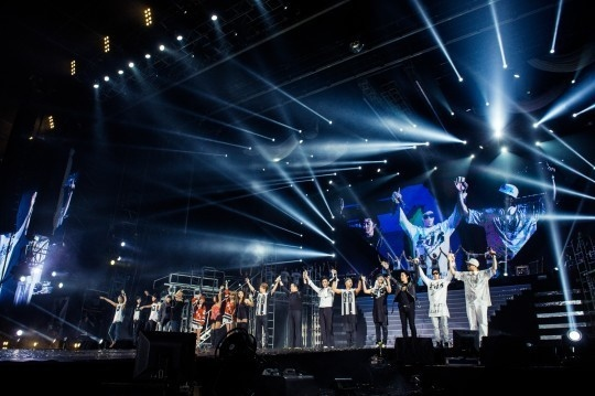 YGファミリーコンサート、BIGBANGからPSYまで…中国・北京で3万5千人の観客を熱狂させたステージ