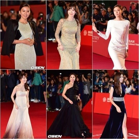 異例の露出自粛令?清楚になった女優たちの「釜山国際映画祭」レッドカーペット