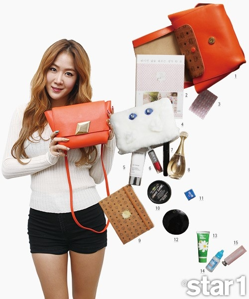 "SISTAR、かばんを開け!""What's in Your Bag?"""