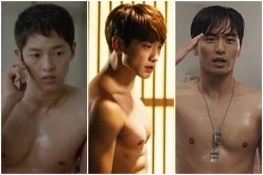溢れだす胸筋\u2026ソン・ジュンギ&RAIN&イ・ジヌクが筋肉美でも激突 , DRAMA , 韓流・韓国芸能ニュースはKstyle