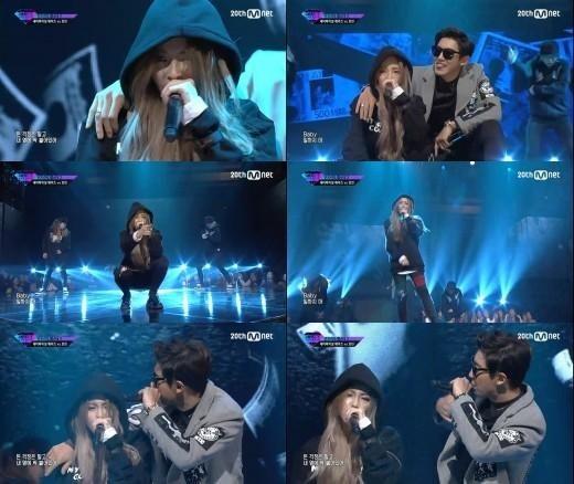EXO チャンヨル&Heize、愉快なラップに会場もヒートアップ!「UNPRETTY RAP STAR 2」でステージ披露
