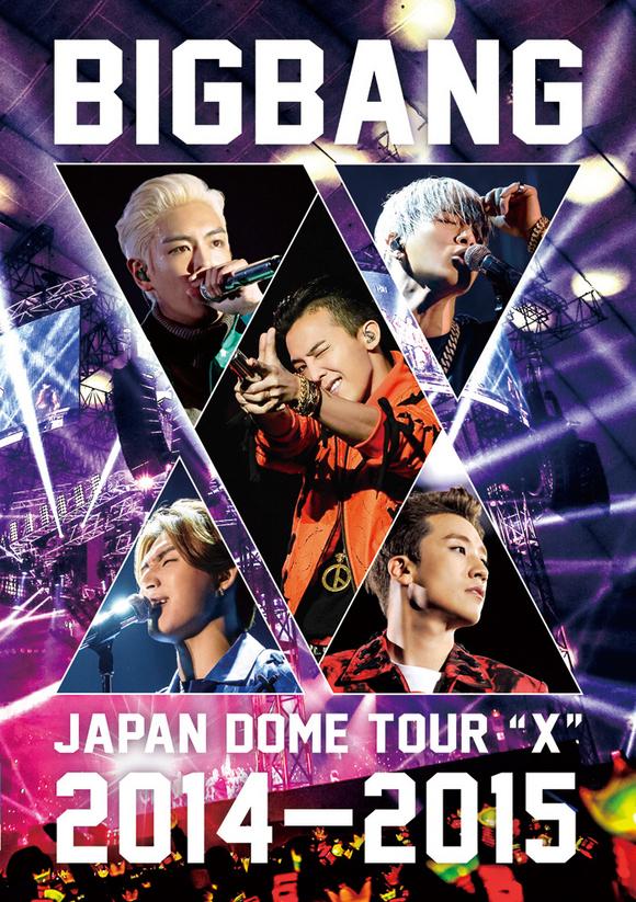 BIGBANG、最新ジャパンドームツアーDVD&Blu-rayがオリコン1位スタート!