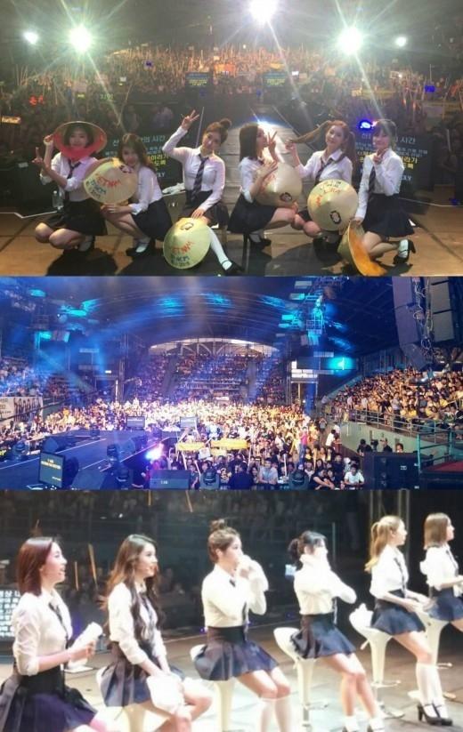 T-ARA、ベトナムでファンミーティング開催!熱い歓声を浴びながらファンと交流