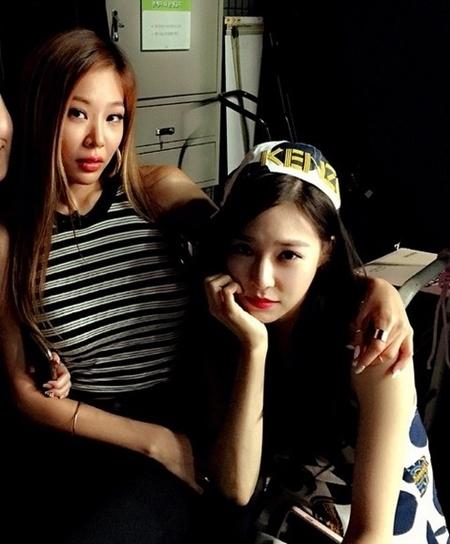 """Jessi、親友の少女時代 ティファニーがMCを務めるバラエティ番組に出演…""""友情を誇示"""""""