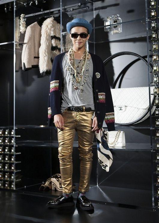 bigbang g-dragon ファッション
