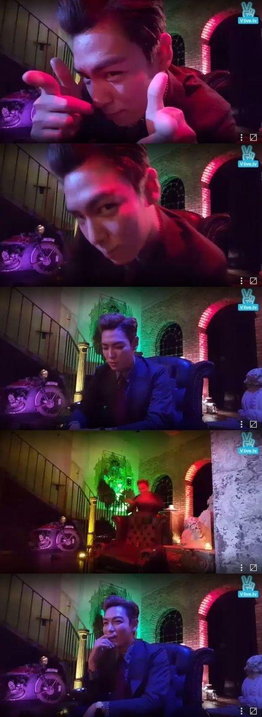 """BIGBANGのT.O.P、生放送で愛嬌&モノマネまで披露""""特級ファンサービス"""""""