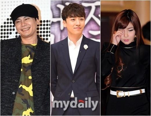 YGヤン・ヒョンソク代表、SNSでBIGBANGのV.I&2NE1のBOMを再びフォロー