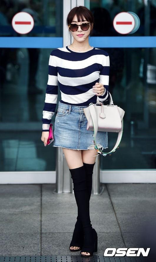timeless design 3afd0 06a0a PHOTO】少女時代 ティファニー、FENDIファッションショーのため ...