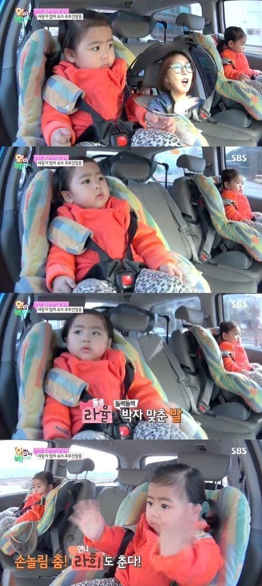 """GD×SOLはちびっ子にも人気!?Shooの双子の娘ラヒちゃん&ラユルちゃん「Good Boy」に合わせて""""ゆらゆら"""""""