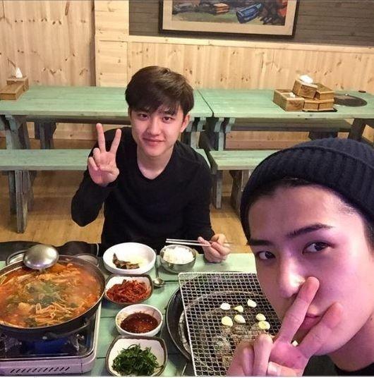 EXO セフン&ディオ、素朴なアイドルの食事風景を公開
