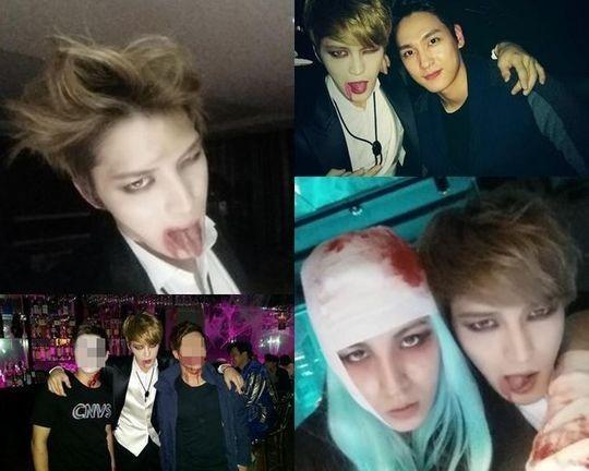 JYJ ジェジュン、セクシーな吸血鬼に変身した姿が話題\u201c楽しいハロウィン\u201d , ENTERTAINMENT , 韓流・韓国芸能ニュースはKstyle