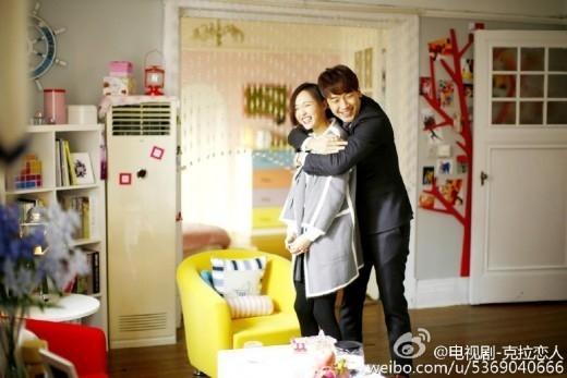 RAIN、幸せそうな笑顔を浮かべてタン・イェンをハグ…中国ドラマ「DIAMOND LOVER」のスチールカット公開