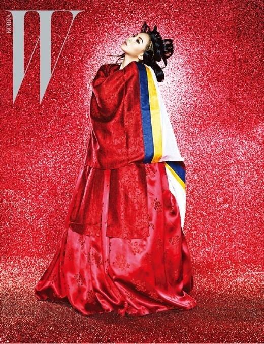 2NE1のCL「日本や中国の文化はよく知られているけれど…」伝統的な韓服グラビアを提案した理由