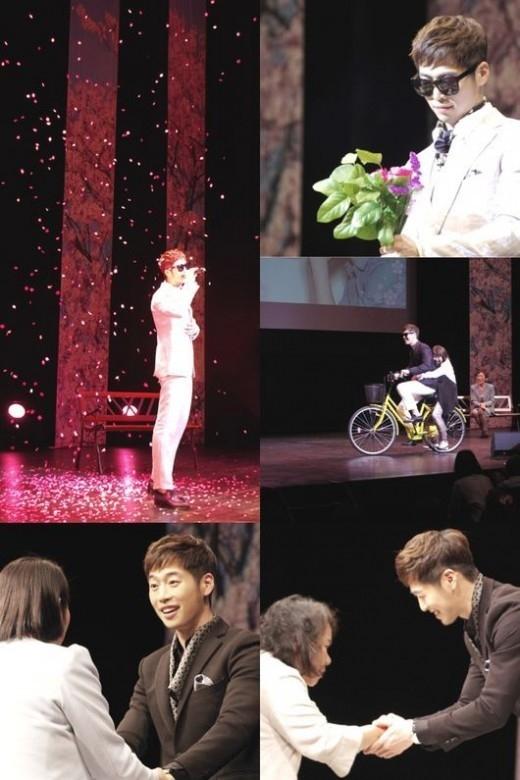 キム・ジェウォン、手作りサンドイッチから自転車デートまで…日本ファンミーティングで特別な花見を満喫