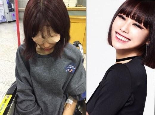 GIRLS GIRLS ミソ、海外医療の誤診により韓国で救急搬送