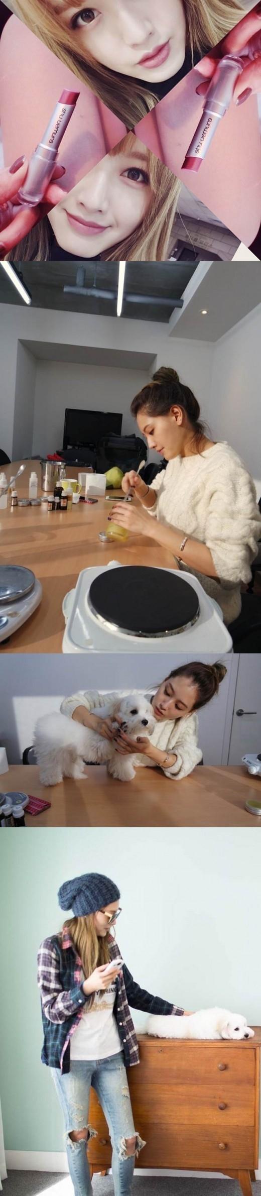 RAINBOW ジェギョン、ブログ「ジェギョン工房」を開設!メイクアップの秘訣から愛犬まで大公開