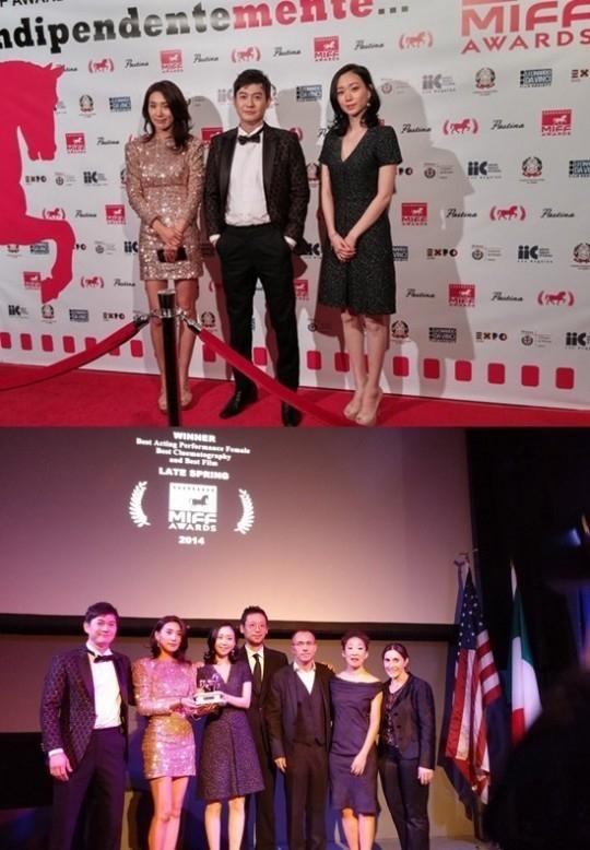 """「グレイズ・アナトミー」のサンドラ・オー「アトリエの春」を絶賛""""韓国映画ということが誇らしい"""""""