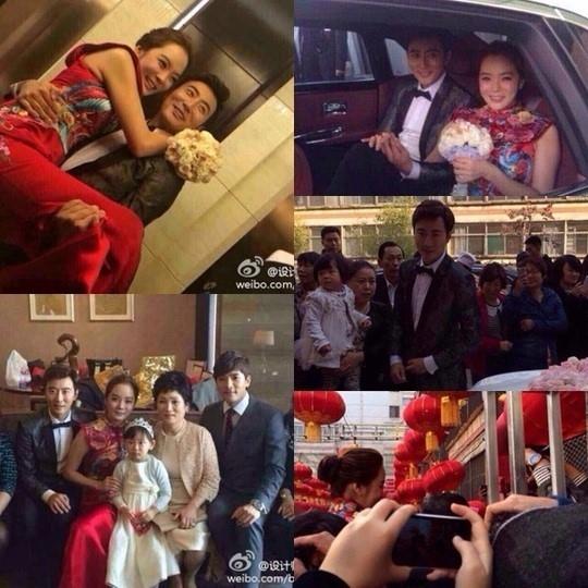 """チェリム&ガオ・ズーチー、中国で結婚式を開催""""幸せそうな笑顔"""""""