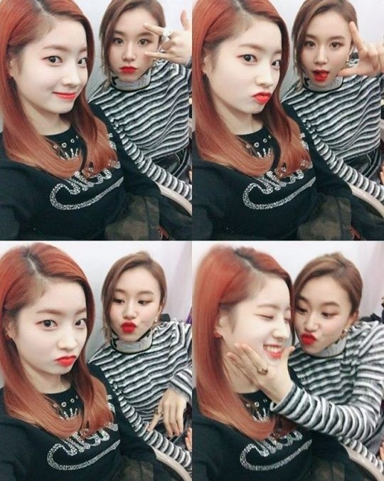 写真\u003dTWICE Instagram. TWICEのダヒョンとチェヨン