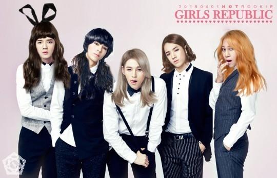"Boys Republic、妹グループ""Girls Republic""がデビュー?エイプリルフールを迎えて驚きの合成写真を公開"