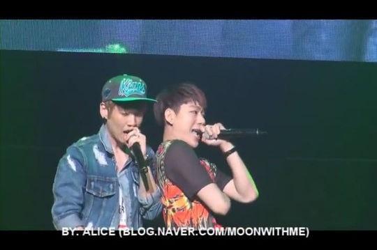 """Block B創立メンバー""Phantom ハンへ&Block B ジコ、コラボ公演の映像が再び話題に"