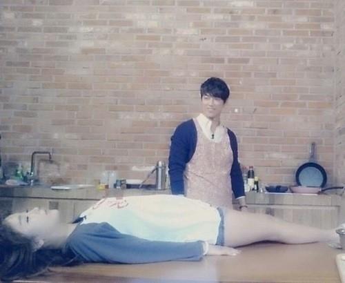"""ホン・ジニョン、仮想夫ナムグン・ミンとの甘く殺伐としたデート姿を公開""""幸せで気絶"""""""