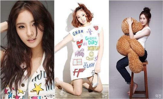 """Secretの妹グループ、名前は""""SONAMOO""""に確定…3人目のメンバーを公開"""
