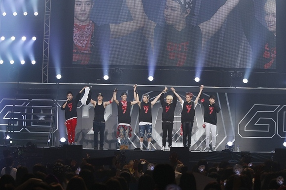 GOT7、感動の日本全国ツアーファイナルにファン5000人が集結!