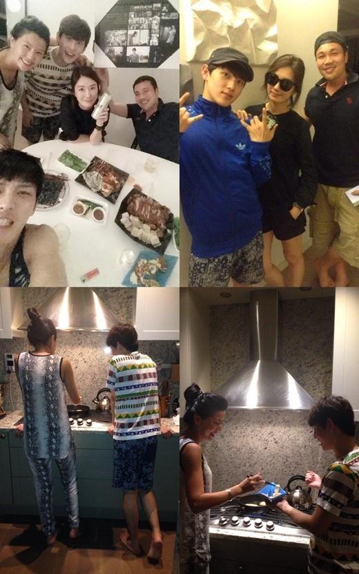 JYJ ジェジュン、自宅で「トライアングル」出演者たちとオ