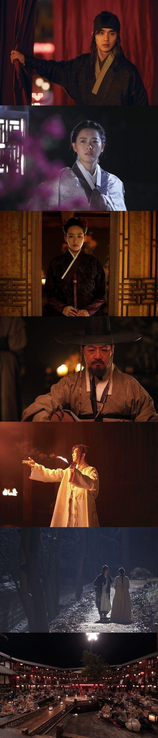 ユ・スンホ&Ara主演「朝鮮魔術師」スチールカットを初公開!特別な雰囲気に期待UP