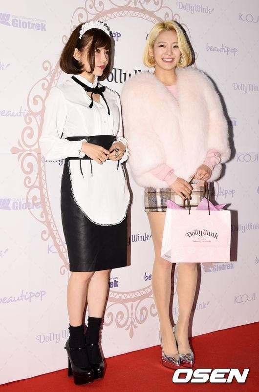日韓美女のツーショット実現!少女時代 ヒョヨン&益若つばさがイベントに登場