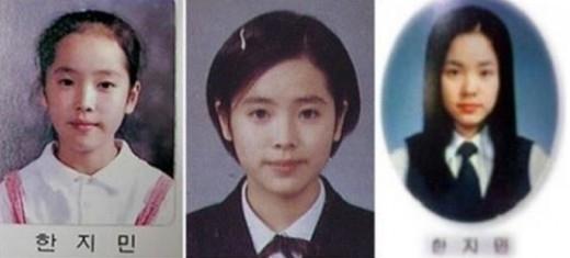 小・中・高校の卒業写真がネット上に公開されて話題に…今と全く変わらないハン・ジミンの美貌にびっくり!