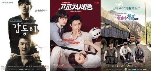 tvNが公式発表「2014年は総合授賞式を行わない」