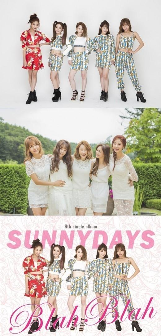Sunny Days、メンバーチェンジを経て1年ぶりにカムバック…6thシングル「Blah Blah」発売