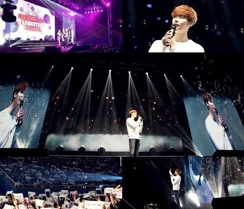 イ・ジョンソク、上海ファンミーティング開催…生中継で約80万人の同時アクセスを記録