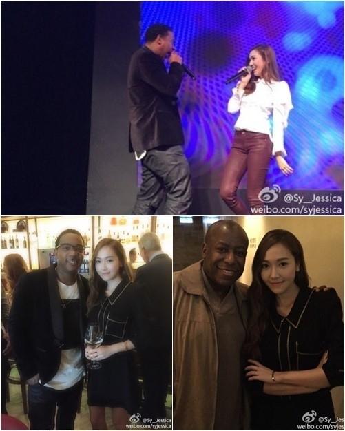 ジェシカ、少女時代を離れて初のステージ!米有名歌手とコラボステージ披露