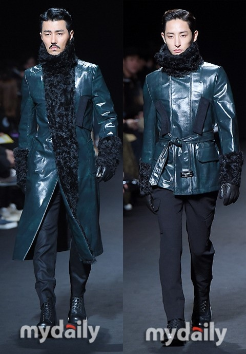 チャ・スンウォン&イ・スヒョク「ソウルファッションウィーク」にモデルとして登場(動画あり)
