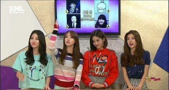 Girl's Dayの自虐ギャグ炸裂!「ユラにあって他のメンバーにないものとは?」