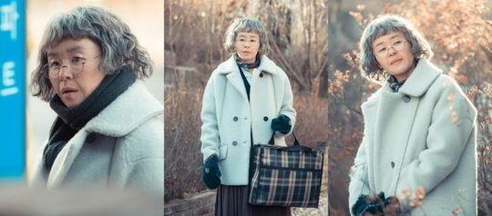 "「Heart to Heart」チェ・ガンヒ、お婆さんに扮装した姿を公開""衝撃の変身"""