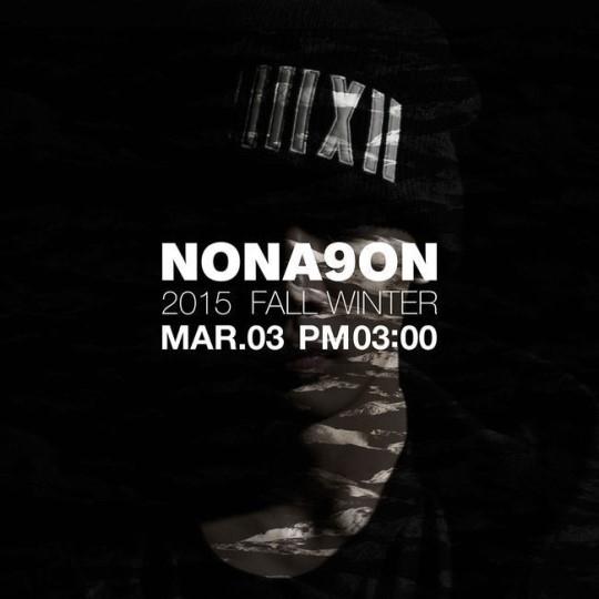 YG、ファッションブランド「NONA9ON」の2015 F/W予告イメージを公開