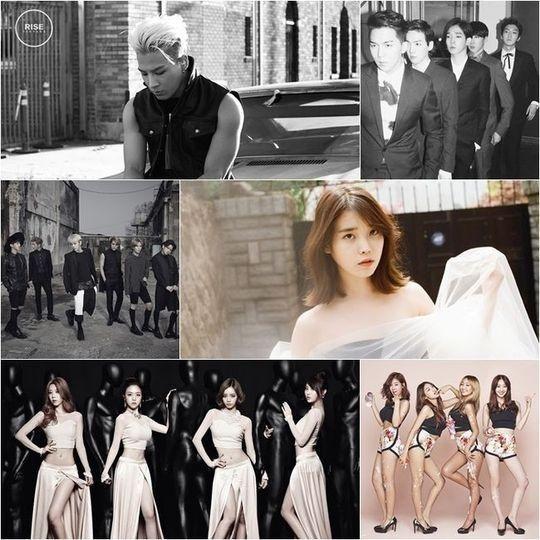 「MelOn Music Awards」豪華ラインナップ公開!BIGBANGのSOL&IU&BEAST&WINNERらが出演