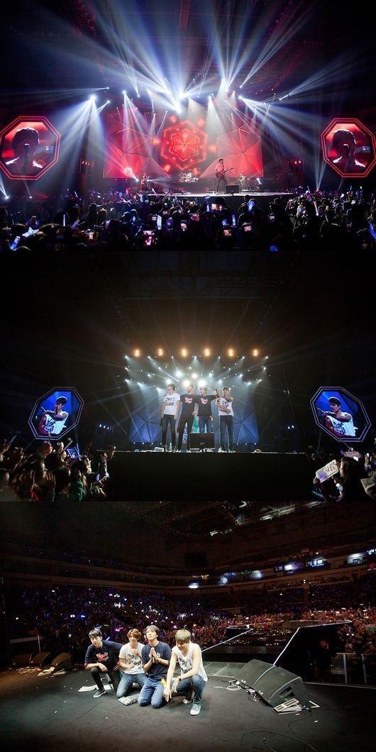 CNBLUE、中国・南京コンサートも大成功!アジアツアーの幕を下ろす