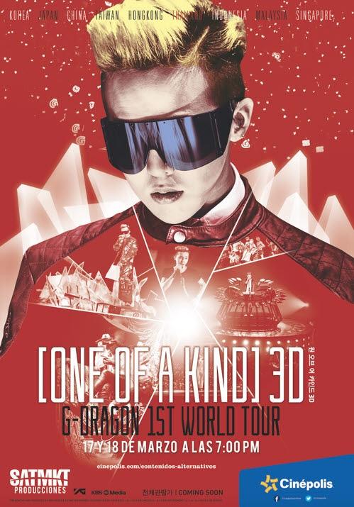 BIGBANGのG-DRAGON、中南米でもソロワールドツアーのドキュメンタリー映画を公開
