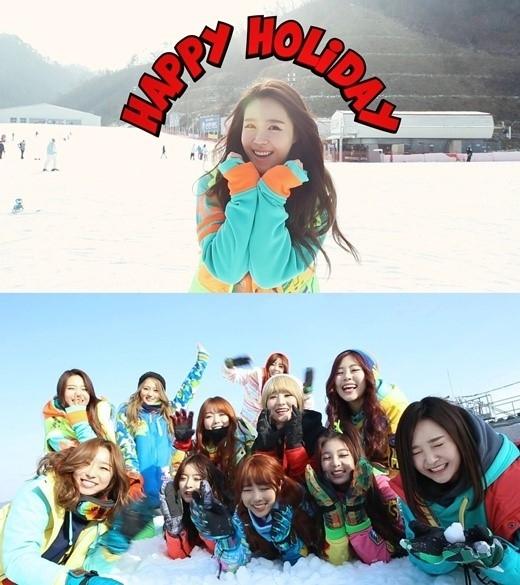 Dal★Shabet&MINX、Happyface Girl'sを結成!一緒にクリスマスキャロルを披露