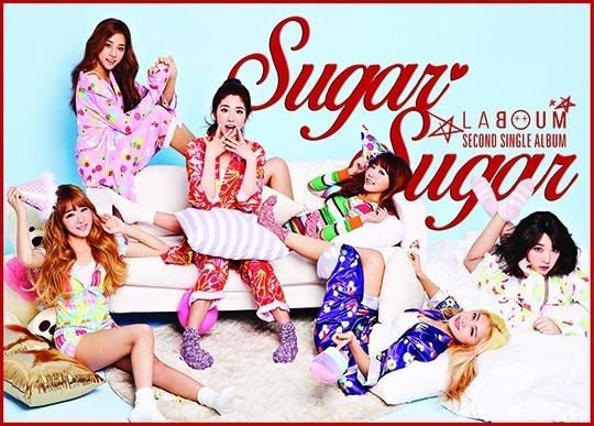 LABOUM、お転婆なパジャマパーティ!2ndシングル「SUGAR SUGAR」ジャケットイメージ公開