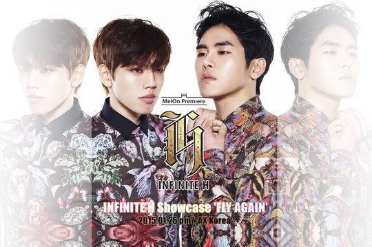 INFINITE H、ショーケースのポスター公開!26日に新曲初披露
